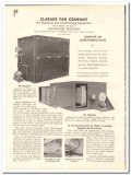 Clarage Fan Company 1935 vintage heating catalog air conditioning