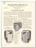 Pullclean Towel Cabinet Company 1935 vintage bathroom catalog sanitary