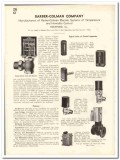 Barber-Colman Company 1935 vintage heating catalog temperature humid