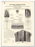 Philip Carey Company 1935 vintage bathroom catalog cabinets mirrors