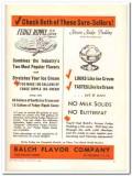 Balch Flavor Company 1943 vintage ad ice cream fudge ripple pudding 2