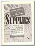 Cherry-Burrell Corp 1943 vintage ad ice cream Supplies bottles powder