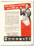 Lily-Tulip Cup Corp 1943 vintage ad ice cream short rations long way