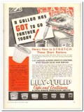 Lily Tulip Cup Corp 1943 vintage ad ice cream stretch short rations