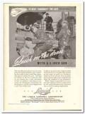 Liquid Carbonic Corp 1943 vintage ad ice cream quick draw gun