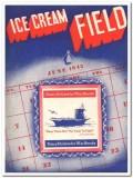 Ice Cream Field 1943 June vintage magazine cover Dairy Dollar War Bond