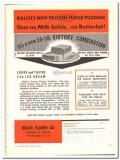 Balch Flavor Company 1944 vintage ad ice cream Frozen Fudge Pudding 4