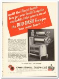 Cherry-Burrell Corp 1944 vintage ad ice cream Duo-Dash freezer batch