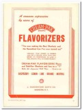 J Hungerford Smith Company 1944 vintage ad ice cream Flavorizers users