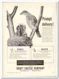 Kraft Cheese Company 1944 vintage ad ice cream Kragel Krabyn delivery