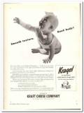 Kraft Cheese Company 1944 vintage ad ice cream Kragel smooth texture