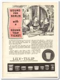 Lily-Tulip Cup Corp 1944 vintage ad ice cream Berlin bound bombing