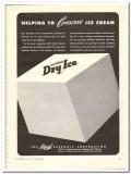 Liquid Carbonic Corp 1944 vintage ad ice cream Red Diamond Dry-Ice