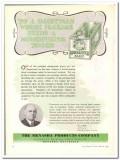 Menasha Products Company 1944 vintage ad ice cream package modernizing