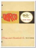 Abegg Reinhold Company 1959 vintage oil gas catalog Varco bushings