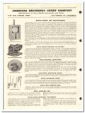 American Recording Chart Company 1959 vintage oil gas catalog Anubis