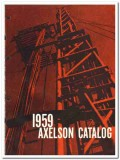 Axelson Mfg Company 1959 vintage oil gas catalog oilfield pumps