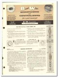B and W Inc 1959 vintage oil gas catalog oilfield scratchers cement
