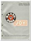 Joy Mfg Company 1959 vintage oil gas catalog Baash-Ross oilfield