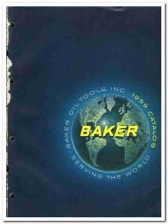 Baker Oil Tools Inc 1959 vintage oil gas catalog oilfield equipment