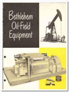 Bethlehem Supply Company 1959 vintage oil gas catalog oilfield rigs