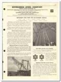 Bethlehem Steel Company 1959 vintage oil gas catalog wire rope casings