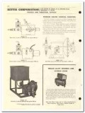 Bettis Corp 1959 vintage oil gas catalog injectors chain tongs valve