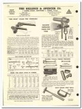 Billings Spencer Company 1959 vintage oil gas catalog chain pipe vise