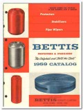Bettis Rubber Company 1959 vintage oil gas catalog protectors wipers