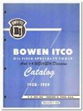Bowen Itco Inc 1959 vintage oil gas catalog oilfield specialty tools
