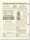 Burt Tank Separator Oil Treating Corp 1959 vintage oil gas catalog