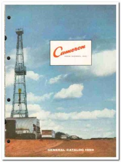 Cameron Iron Works Inc 1959 vintage oil gas catalog oilfield well head