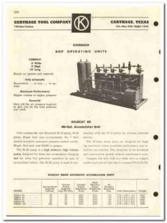 Carthage Tool Company 1959 vintage oil gas catalog oilfield equipment