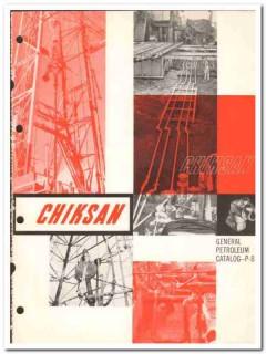 Chiksan Company 1959 vintage oil gas catalog oilfield swivel joints
