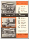 Commercial Iron Works Inc 1959 vintage oil gas catalog orifice fitting