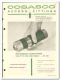 Perfect Circle Corp 1959 vintage oil gas catalog Cosasco fittings