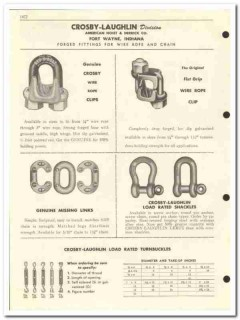American Hoist Derrick Company 1959 vintage oil gas catalog fittings