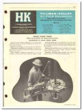 Hillman-Kelley Inc 1959 vintage oil catalog oilfield equipment tongs