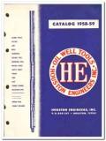 Houston Engineers Inc 1959 vintage oil gas catalog oilfield tools taps