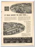 Barber-Colman Company 1954 vintage textile ad machinery exhibition