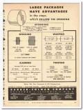 Barber-Colman Company 1954 vintage textile ad spooling warping