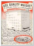 Baltimore Pure Rye Distilling Company 1935 vintage whiskey ad quality