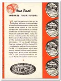 Baltimore Pure Rye Distilling Company 1935 vintage whiskey ad future
