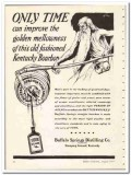 Buffalo Springs Distilling Company 1935 vintage whiskey ad Bourbon