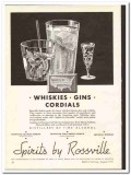 Commercial Solvents Corp 1935 vintage whiskey ad Gins Rossville