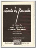 Commercial Solvents Corp 1935 vintage whiskey ad Spirits Rossville