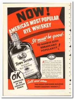 Penn-Maryland Corp 1935 vintage whiskey ad rye Americas most popular