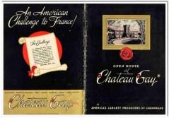 Chateau Gay Ltd 1935 vintage wine ad American Champagne challenge