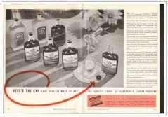 Anchor Cap Closure Corp 1935 vintage glass ad quality packages liquor