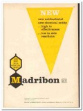 Hoffmann-La Roche Inc 1959 vintage medical ad Madribon antibacterial
